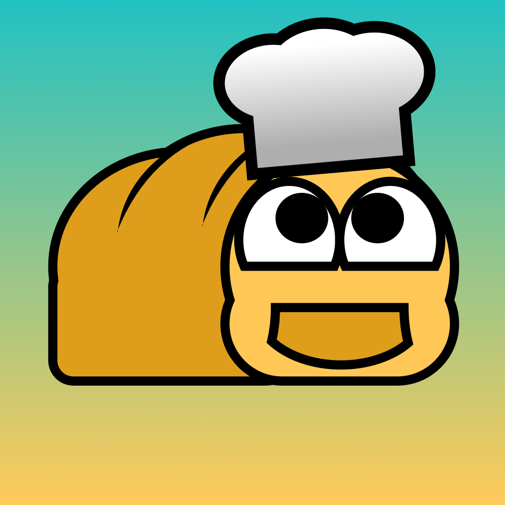Image showing the comic bread illustration with a hat.
